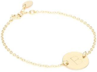 "Nashelle Identity"" Initial 'B' Charm Bracelet"