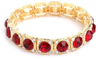 BaubleBar Ruby Glitz Bangle