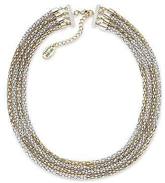 Nicole Miller nicole by Two-Tone Multi-Chain Necklace