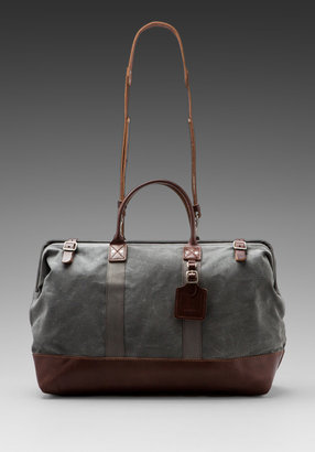 Billykirk No. 166 Large Carryall in Ash Wax/ Brown
