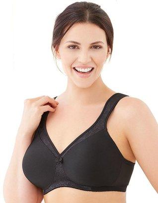 Glamorise Bra: MagicLift Seamless Support T-Shirt Bra 1070 - Women's