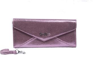 Jessica Simpson Camilla Envelope Wristlet Light Pink