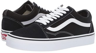 Vans Old Skooltm Core Classics (Racing Red/True White) Shoes