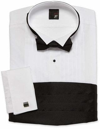 Jf J.Ferrar JF Tuxedo Shirt Set