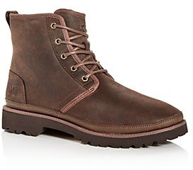 UGG Men's Harkley Waterproof Nubuck Leather Boots