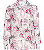 Reiss Tulip PRINTED SILK SHIRT