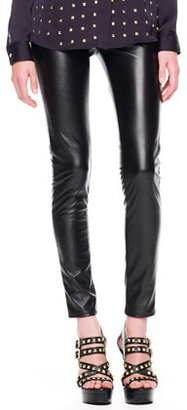 MICHAEL Michael Kors Faux-Leather Leggings