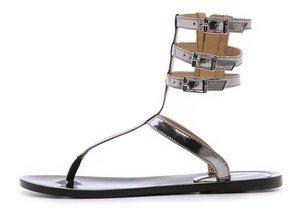 Rachel Zoe Cecille T Strap Sandals