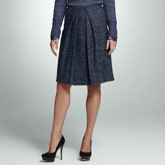 Jones New York Herringbone Skirt