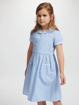 John Lewis & Partners Gingham Cotton School Summer Dress