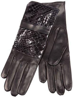 Imoni crocodile effect panel glove