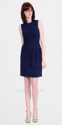 Kay Unger Navy Sheath Casual Day Dresses