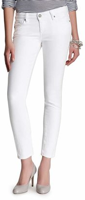 Paige Denim Jeans - Skyline Ankle Peg in Optic White $189 thestylecure.com