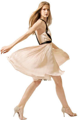 Maria Lucia Hohan Pleated Silk Tulle Dress