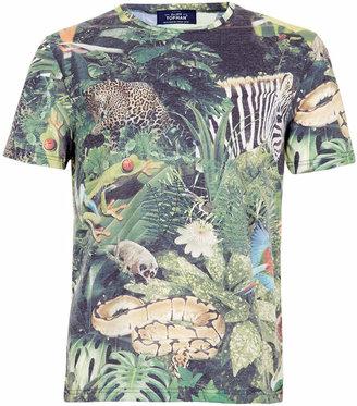 Topman Jungle Print T-Shirt