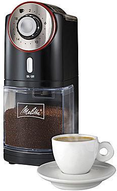 Hamilton Beach Melitta Adjustable Burr Coffee Grinder