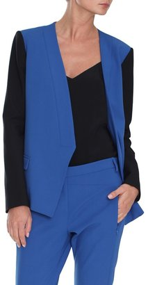 Tibi Anson Blazer with Zip Detail