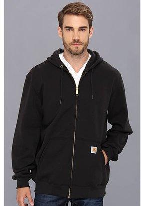 Carhartt MW Hooded Zip Front Sweatshirt (Heather Gray) Men's Sweatshirt