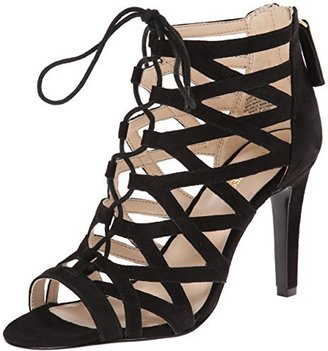 Nine West Women's Authority Suede Dress Sandal