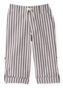 Janie and Jack Stripe Roll Cuff Pant