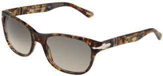 Persol PO3020S (Brown Spotted Multi/Brown Faded Lens) - Eyewear