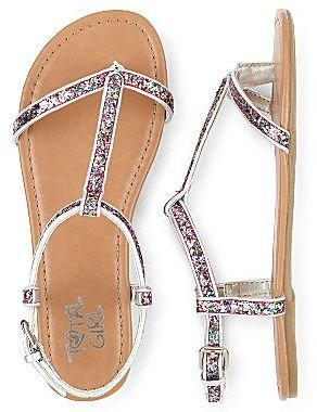 JCPenney Total Girl® Trixie Girls Sandals