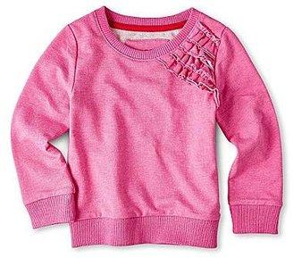 Joe Fresh Joe FreshTM Ruffled Sweater - Girls 1t-5t