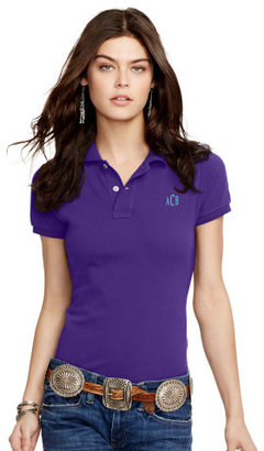 Personalization Skinny-Fit Polo Shirt $85 thestylecure.com
