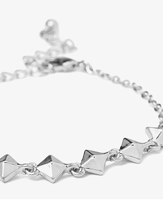 Forever 21 Faceted Bead Bracelet