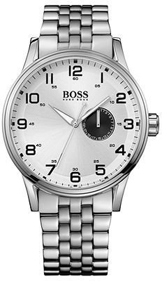 HUGO BOSS Watch, Men's Stainless Steel Bracelet 44mm 1512791