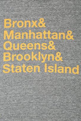 Goodie Two Sleeves Five Boroughs Cropped Tee