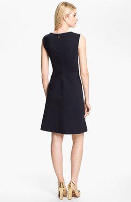 Tory Burch 'Hanna' Stretch A-Line Dress