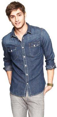 Gap Two-pocket denim shirt