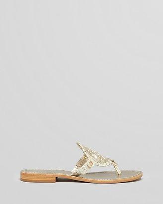 Jack Rogers Thong Sandals - Georgica Flat