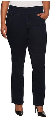 Jag Jeans Peri Pull-On Denim Straight Leg Jeans (After Midnight) Women's Jeans
