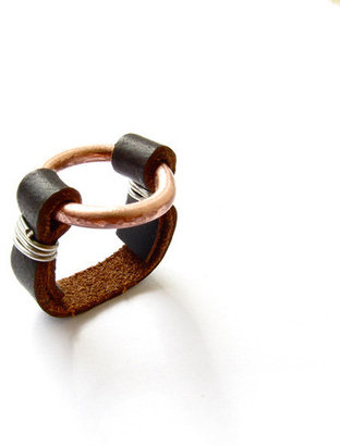 Laira+Lou Infinity Ring Copper