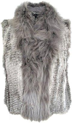 Elizabeth and James Sean Fur Vest