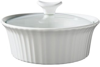 CorningWare 1 1/2 Quart Ceramic Baking Dish - White