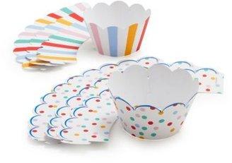 Sur La Table Meri Meri Toot Sweet Cupcake Wraps, Set of 24