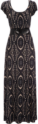 Wallis Brown Belted Maxi Dress