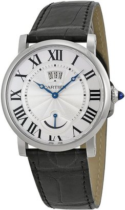 Cartier Rotonde Automatic Silver Dial Men's Watch