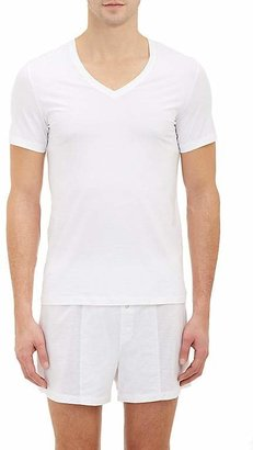 Hanro Men's Superior V-Neck T-shirt $68 thestylecure.com
