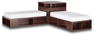 PBteen Store-It Bed + Corner Unit Sets