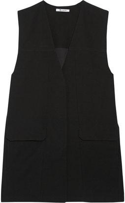 Alexander Wang Oversized crepe vest
