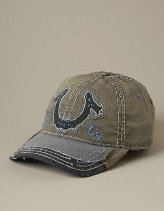 True Religion MENS HORSESHOE LOGO BASEBALL CAP - (Charcoal)