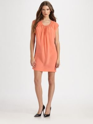 Robert Rodriguez Colorblocked Tunic Dress