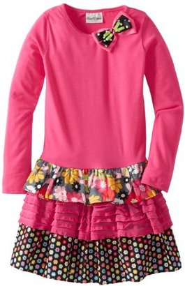 Rare Editions Girls 7-16 Mixed Media Tutu Dress