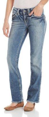 Silver Jeans Juniors Suki Straight Jean Flap 17