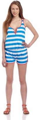 U.S. Polo Assn. Juniors Romper Cover Up