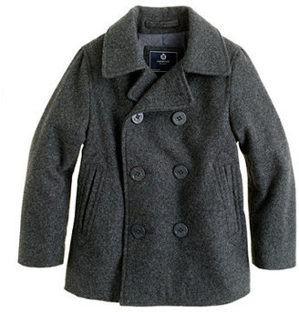 J.Crew Boys' city peacoat with Thinsulate®